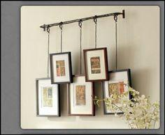 Creative way to hang pics or art