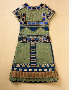 Costume for Herod in the Ballets Russes production of 'La Tragédie de Salomé,' (Tragedy of Salome); Man's Robe - Sergei Soudeikine - 1913
