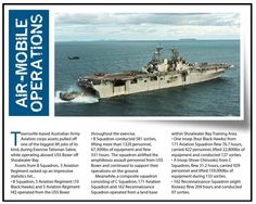 Aussies practice amphibious operations. Published in issue #7, September 2005