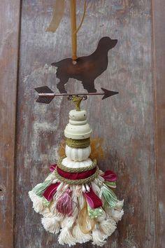 Decorative Tassel Shabby Chic Decor Cottage Chic by atopdrawer, $35.00