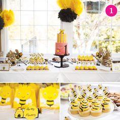 {Party of 5} Bumble Bee, Little Birds, Rustic Garden, Superhero in Training, Sophisticated Frozen