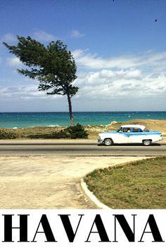 Viagem para Havana, Cuba, na famosa ilha de Che e Fidel