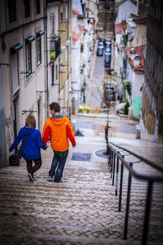 Lisbon Stairs, Portugal - Diário de Lisboa - The Lisbon Diary
