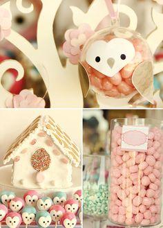owl cake pops !