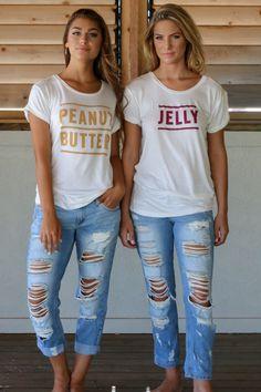 The PB To My J BFF Shirts
