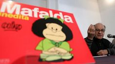 Quino revela que prefiere a Libertad en lugar de Mafalda
