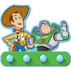 Disney - Toy Story Wall Hooks