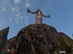 The Shrine of Azura in Morrowind, where the Daedric quest to gain Azura's Star is started.