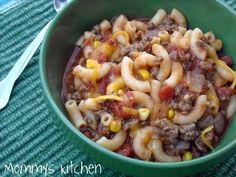 Mommy's Kitchen: Bobby's Favorite Goulash {Now Our Favorite}