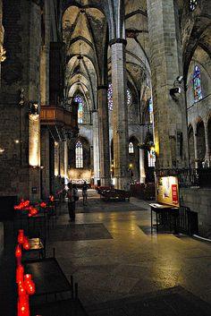 Santa Mª del Mar, Barcelona, Catalonia