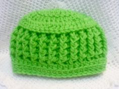 Crocheted Baby Hat Beanie Boy Girl 6 to 9 Month Size by RaeOfLight, $7.00