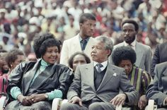 Nelson Mandela's Life in Photos with first wife Winnie