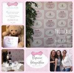 Como hacer un Photocall casero para una comunión de niñas. Idea divertida, original y barata para la comunión de tu hija