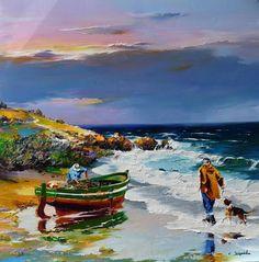 sulu boya yağlı boya tablolar ile ilgili görsel sonucu