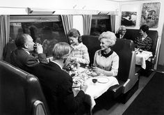 The dining car. Train Tracks, Train Rides, South African Railways, Idaho Springs, Bus Travel, Back On Track, The Good Old Days, Public Transport, Vintage Travel