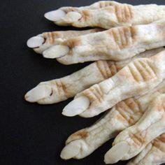 siguiendo con la idea de manos comestible para halloween