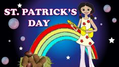 Simply done with Irish-ish images, gives history of St. Pat and some of the traditions around the day, has a bit of an Irish sound, nice, especially if you're going to serve Bubbles and Squeak. 1:29 Potatoes and Cabbage (St. Patrick's Day Song) Learn a lot with DidiPop