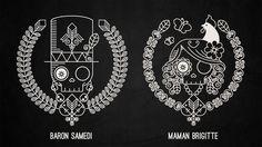 Baron Samedi & Maman Brigitte Icons. Guru. Voodoo : House of Blues.