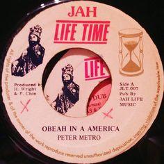 Obeah in America.  #reggae #jamaica #45rpm #dub #reggaelabelart #deejaystyle #dancehallmusic #deejay #petermetro #obeah #obeahinamerica #jahlife #liveandlearn #kingselassie #rastafari #jahlifetime #jahlifemusic #hymanwright #percychin #jahlifetimerecords #madeinjamaica #kingston #reggaefever #digitalreggae #dancehall #Soundsystem by albwizz