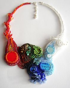 """""""4 elements"""" necklace by Teri"""