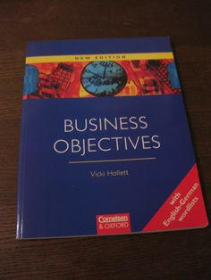 Vicki Hollett  Business Objectives Oxford English, Ebay, Business, Cover, Books, English, Pocket Books, Libros, Book