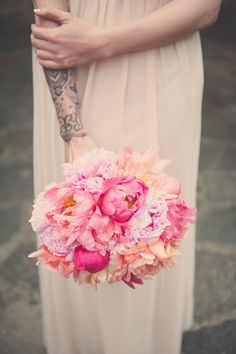 Gallery of images of wedding flowers created by The Vintage Floral Design Company - specialising in fine art, eco, vintage, rustic, festival & boho weddings