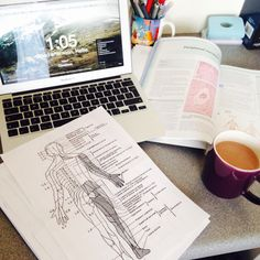 quilavastudy: Spending my afternoon going over the peripheral nervous system, with a homemade mocha  ☕️