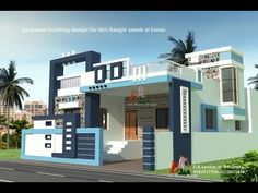 70 Ideas Small House Front Door For 2020 House Front Wall Design, House Balcony Design, House Outer Design, Single Floor House Design, Modern Small House Design, Village House Design, Bungalow House Design, Door Design, House Floor