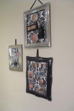 Dannie's DIY: Magnet Makeup Organizer   DIY Dannie!