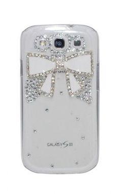 White Bow Samsung Galaxy S3 Case