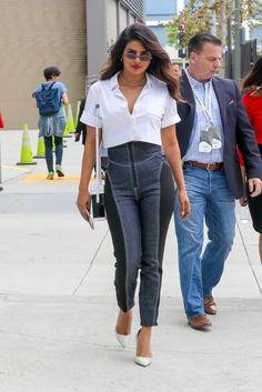 Priyanka Chopra is seen leaving the Microsoft Theater in Downtown Los Angeles 31/05/2018