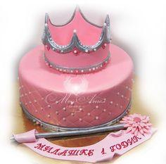 "Cake ""Fairy-Princess"". Торт ""Принцесса-Фея""."