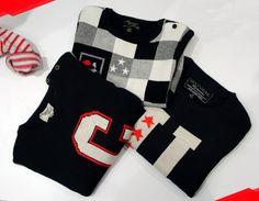Sweaters con estilos variados para añadir al vestuario de tu pequeño. www.travesuras.com.co