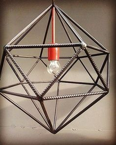 Super Ideas For Modern Lighting Bulb Metal Projects, Welding Projects, Metal Crafts, Rustic Lighting, Modern Lighting, Lighting Design, Luminaria Diy, Industrial Design Furniture, Industrial Table