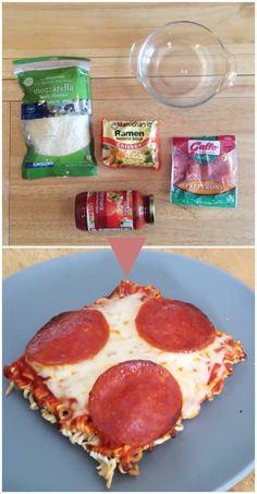 How To Make Ramen Pizza
