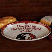 Florida State Seminoles (FSU) True Fan Platter