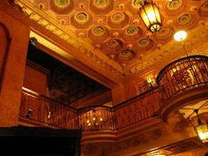 Olympia Theater at the Gusman Center for the Performing Arts, Upstairs (Miami, Florida)
