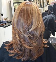 corte de pelo medio largo rebajado pinteres
