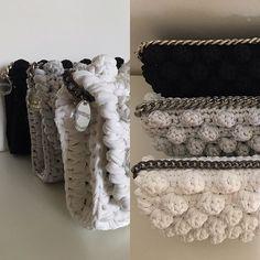 Pochette#fettuccia #handmade#summer#fattoamano#nocciolina#crochetbag#estate