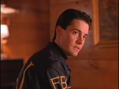 Agent Cooper, Twin Peaks I love this scene. Wish he and Audrey could have been together.