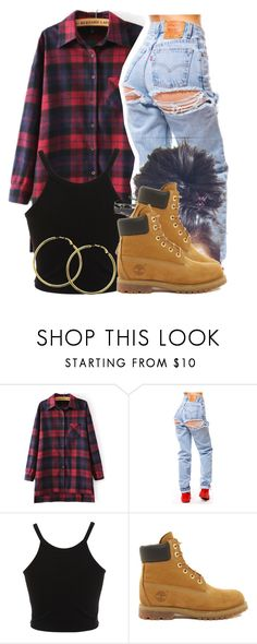 """""""Untitled #255"""" by jaziscomplex ❤ liked on Polyvore featuring Miss Selfridge, Timberland and Melissa Odabash"""