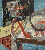 Jackson Pollock. Stenographic Figure. c. 1942
