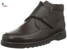 Ganter  ERIC-STIEFEL, Weite H, Bottes courtes avec doublure chaude homme - Marron - Braun (espresso 2000), 41 EU - Chaussures ganter (*Partner-Link)