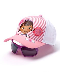 Loving this Disney Doc McStuffins Baseball Cap & Sunglasses on #zulily! #zulilyfinds