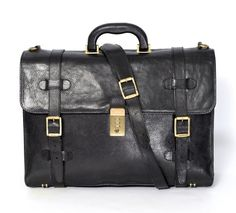 A rustic vintage look uniquely achieved in this black leather Bally bag.   Shop Bags: http://www.frieschskys.com/bags   #frieschskys #mensfashion #fashion #mensstyle #style #moda #menswear #dapper #stylish #MadeInItaly #Italy #couture #highfashion #designer #shopping