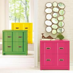 Madeira Chest - on grandinroad.com.  Another bold accent piece in great color options