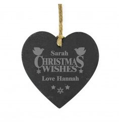 http://www.exclusivelypersonal.co.uk/personalised-gifts-for-her/personalised-slate-gifts-for-her/personalised-Christmas-Wishes-Slate-Heart