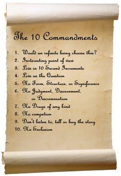 De ti bud til mere bevidsthed