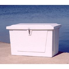 Large 44x27 Fiberglass Dock Storage Box By Better Way Products Inc. Deck  Storage,