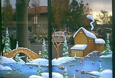 Αποτέλεσμα εικόνας για christmas store window painting
